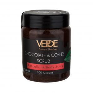 Шоколадно-кофейный скраб Верде